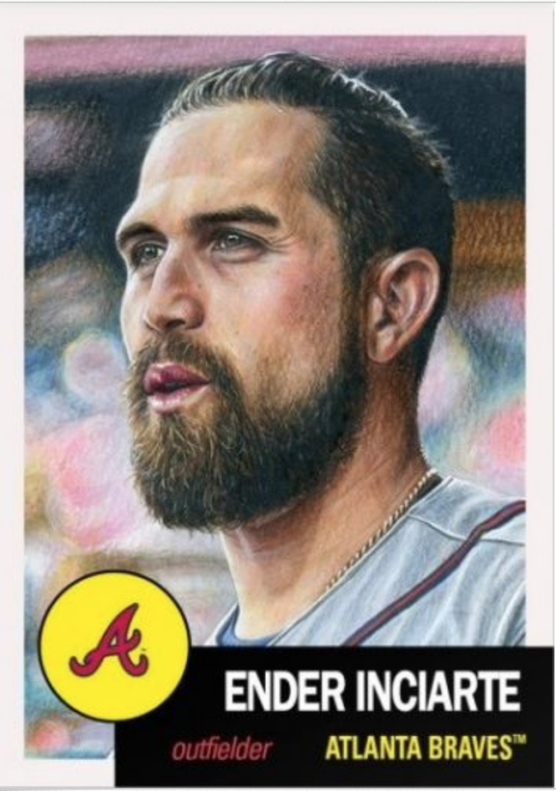 2018 Topps The MLB Living Set Baseball #99 Ender Inciarte Atlanta Braves  Online Exclusive MLB Trading Card SOLD OUT at Topps