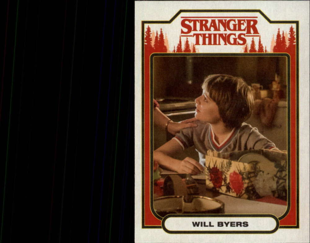 2018 Topps Stranger Things Season 1 Character Cards ST-7 Will Byers  Official Netflix Series Collector's Card