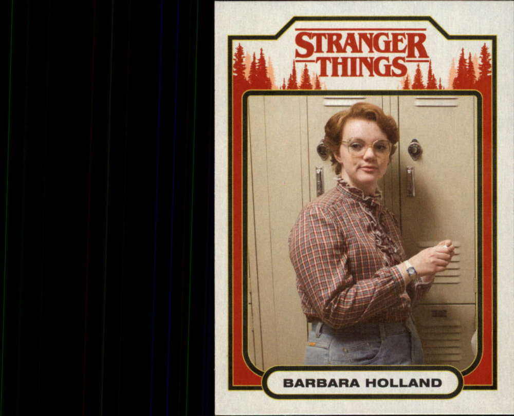 2018 Topps Stranger Things Season 1 Character Cards ST-12 Barbara Holland  Official Netflix Series Collector's Card