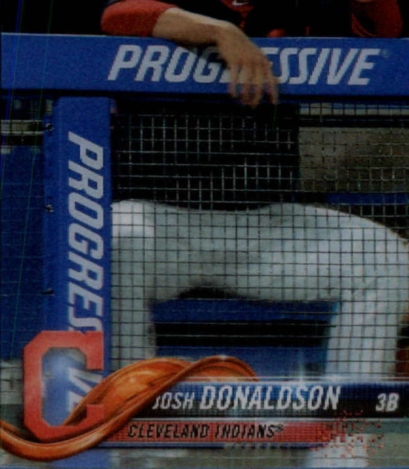 2018 Topps On Demand 3D Baseball #70 Josh Donaldson Cleveland Indians Very Limited Print Run