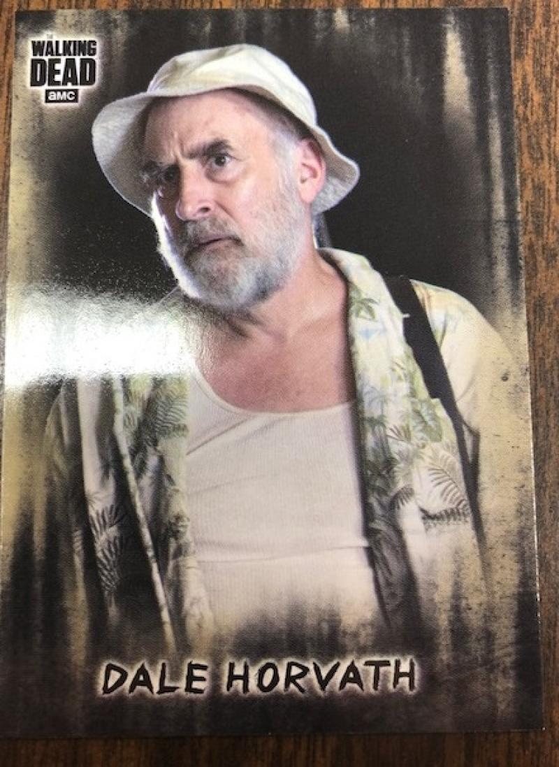 2018 Topps Walking Dead Hunters and the Hunted Short Print Variation #33 Dale Horvath SP Short Print  Official AMC Series Trading Card
