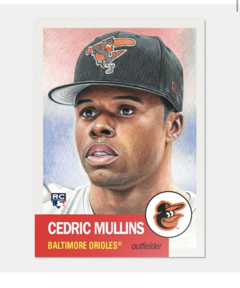2019 Topps The MLB Living Set Baseball #146 Cedric Mullins RC Rookie Baltimore Orioles  Official MLB ONLINE EXCLUSIVE SOLD OUT at Topps