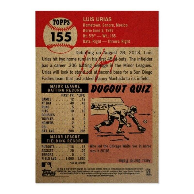 2018-2019-Topps-The-Living-Set-Baseball-MLB-Pick-Your-Cards-Lot-Finish-Set thumbnail 166