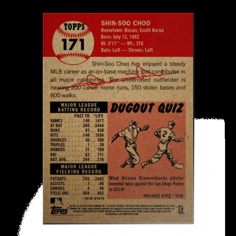 2018-2019-Topps-The-Living-Set-Baseball-MLB-Pick-Your-Cards-Lot-Finish-Set thumbnail 194