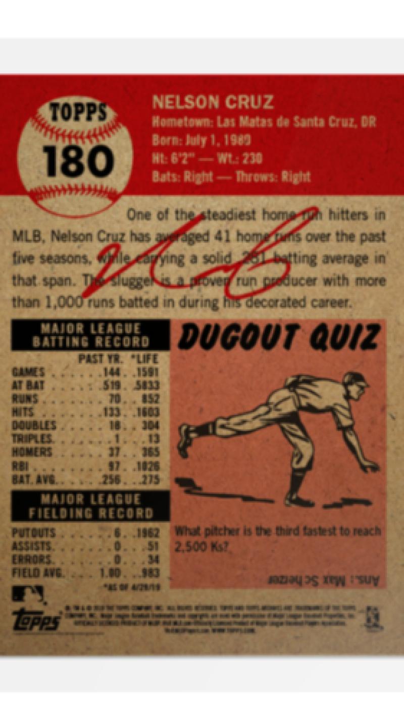 2018-2019-Topps-The-Living-Set-Baseball-MLB-Pick-Your-Cards-Lot-Finish-Set thumbnail 212