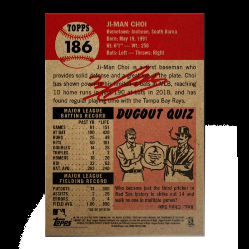 2018-2019-Topps-The-Living-Set-Baseball-MLB-Pick-Your-Cards-Lot-Finish-Set thumbnail 224
