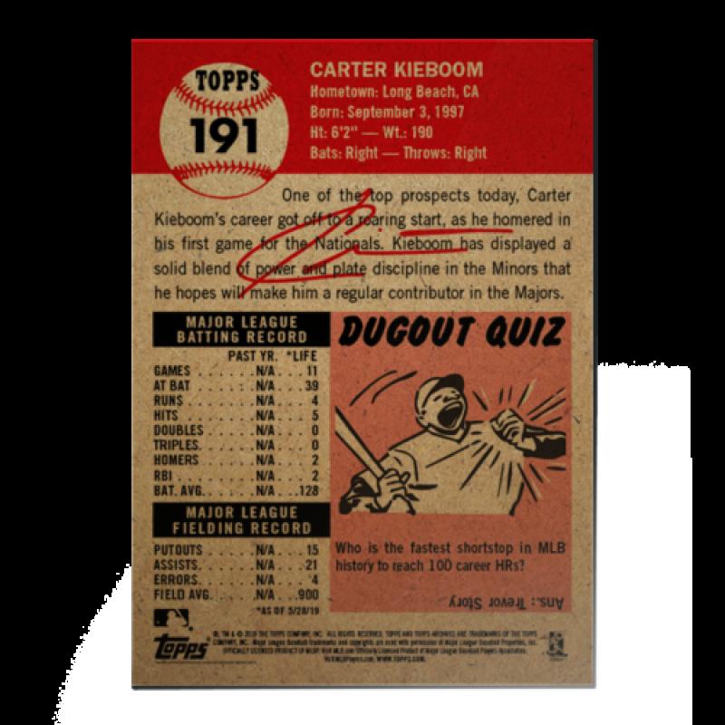 2018-2019-Topps-The-Living-Set-Baseball-MLB-Pick-Your-Cards-Lot-Finish-Set thumbnail 234