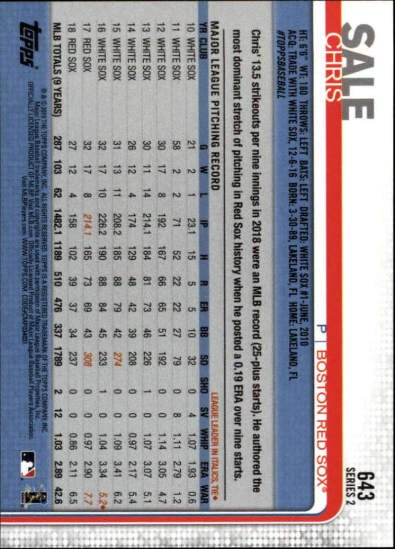 2019-Topps-MLB-Photo-Variation-SP-Series-1-amp-2-Short-Print-Pick-Your-Cards-Lot thumbnail 55