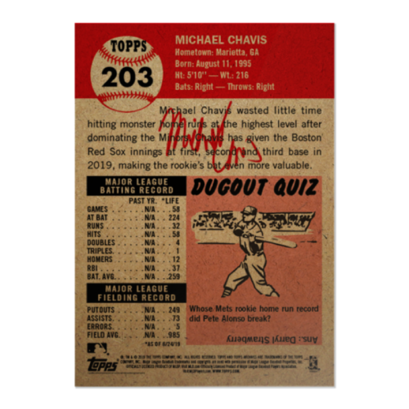 2018-2019-Topps-The-Living-Set-Baseball-MLB-Pick-Your-Cards-Lot-Finish-Set thumbnail 252