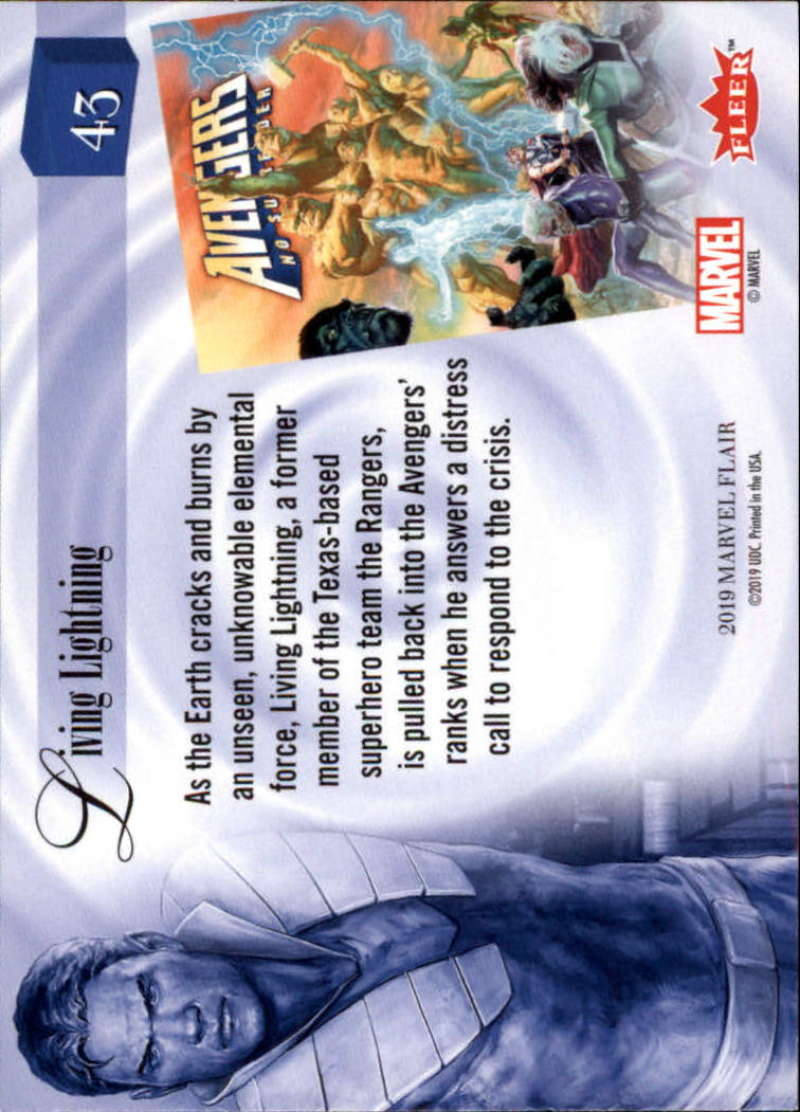 2019-Flair-Marvel-Singles-Upper-Deck-Pick-Your-Cards-Make-a-Lot-Finish-a-Set thumbnail 51