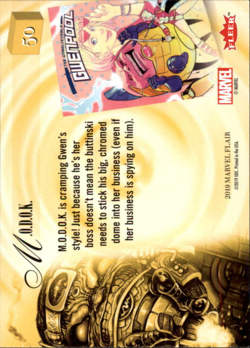 2019-Flair-Marvel-Singles-Upper-Deck-Pick-Your-Cards-Make-a-Lot-Finish-a-Set thumbnail 59