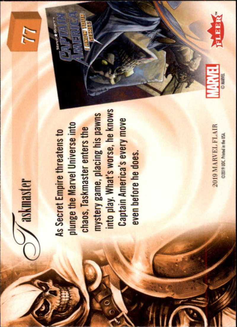 2019-Flair-Marvel-Singles-Upper-Deck-Pick-Your-Cards-Make-a-Lot-Finish-a-Set thumbnail 89