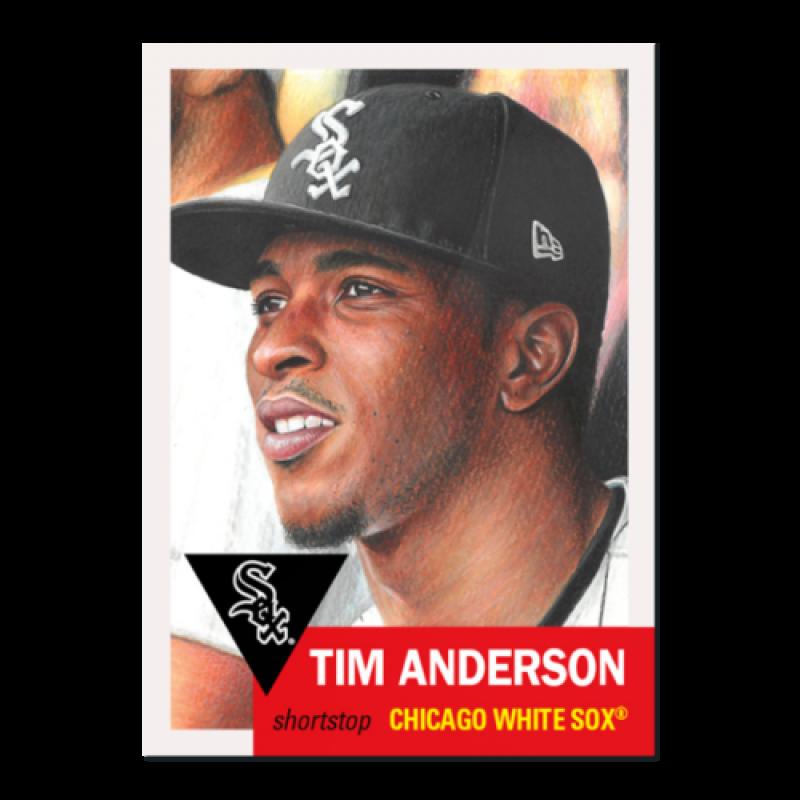2019 Topps MLB The Living Set #213 Tim Anderson Chicago White Sox