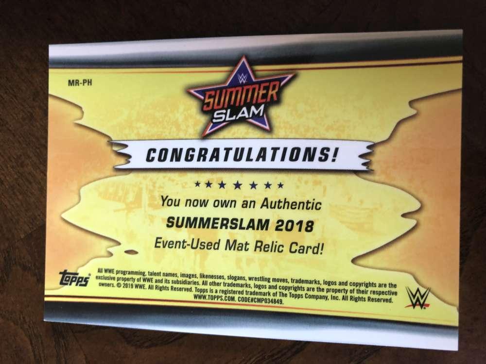 2019-WWE-Topps-SummerSlam-Parallels-Logo-Mat-Shirt-Relics-Pick-Your-Cards-Lot thumbnail 155