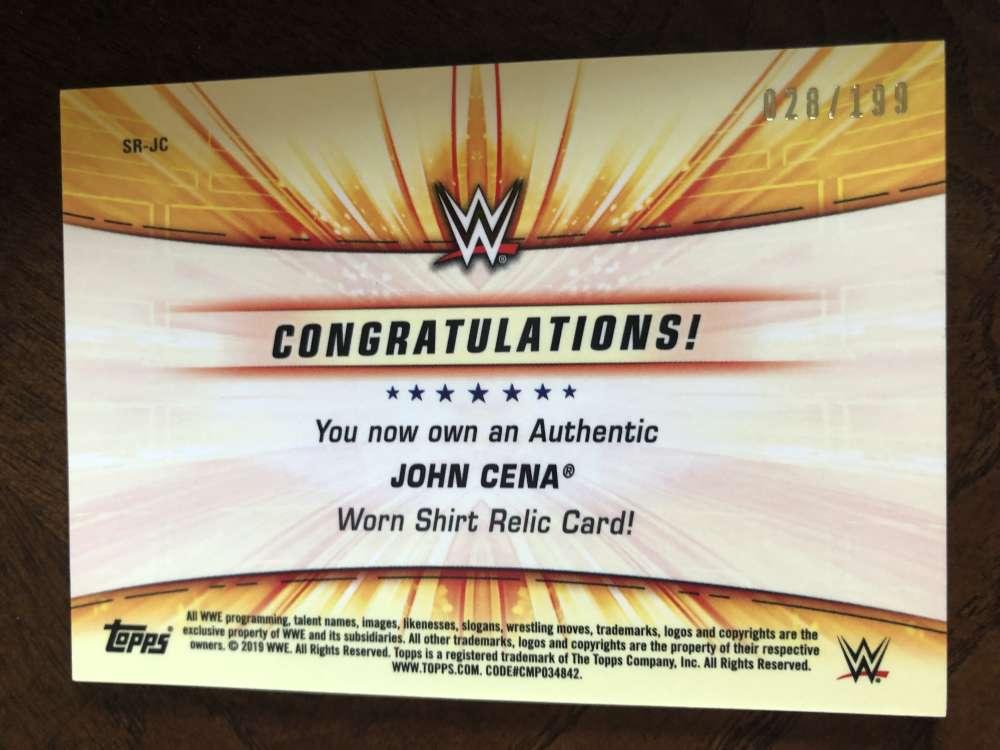 2019-WWE-Topps-SummerSlam-Parallels-Logo-Mat-Shirt-Relics-Pick-Your-Cards-Lot thumbnail 167