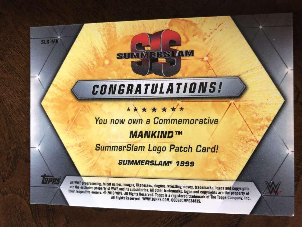 2019-WWE-Topps-SummerSlam-Parallels-Logo-Mat-Shirt-Relics-Pick-Your-Cards-Lot thumbnail 173