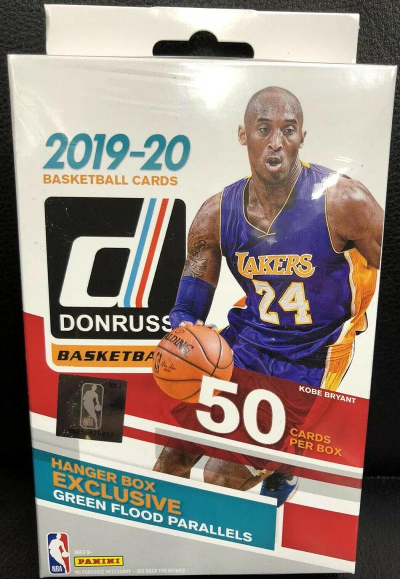 2019-20 Donruss NBA Basketball Hanger Box Chase Zion Williamson Green Flood Very Rare Exclusive Retail Pull!
