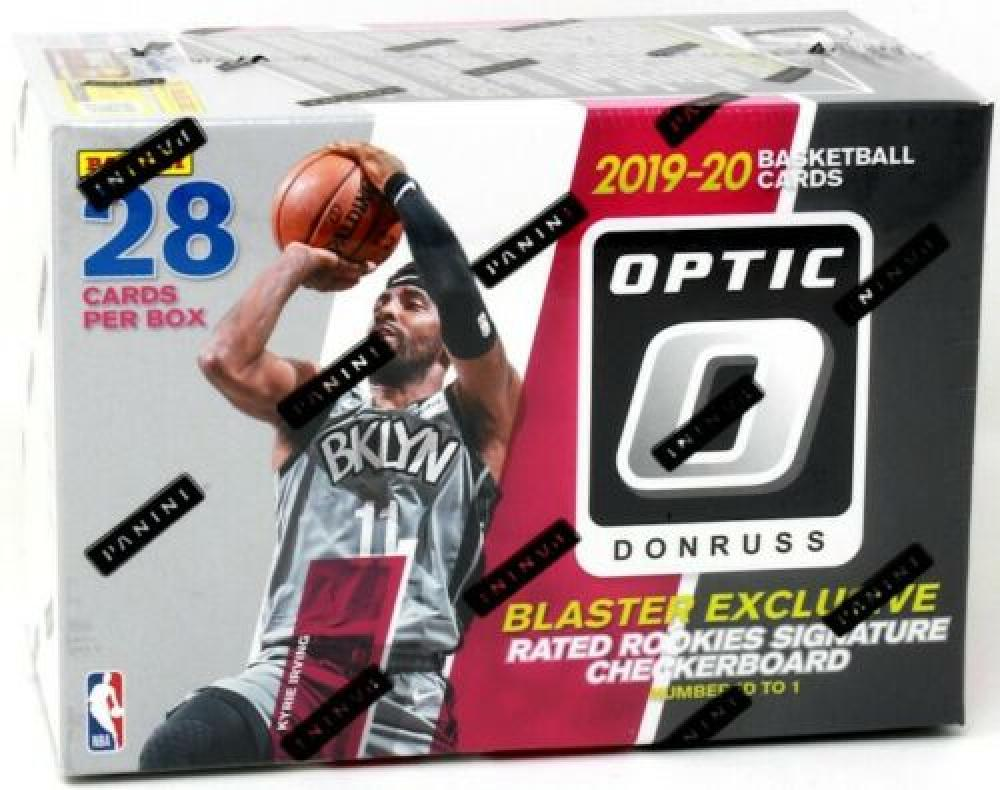 2019/20 PANINI DONRUSS OPTIC NBA BASKETBALL BLASTER BOX