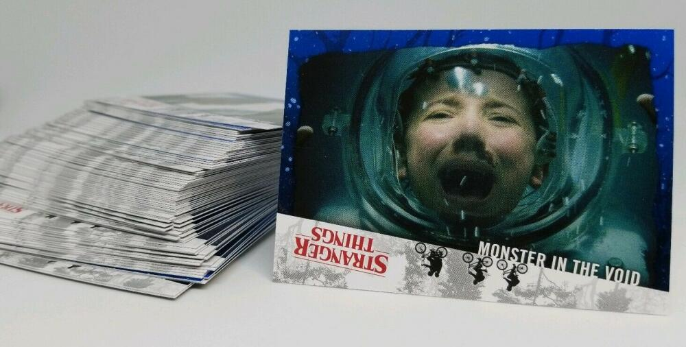2019 Topps Stranger Things Welcome to the Upside Down  Complete Base Set of 80 Cards