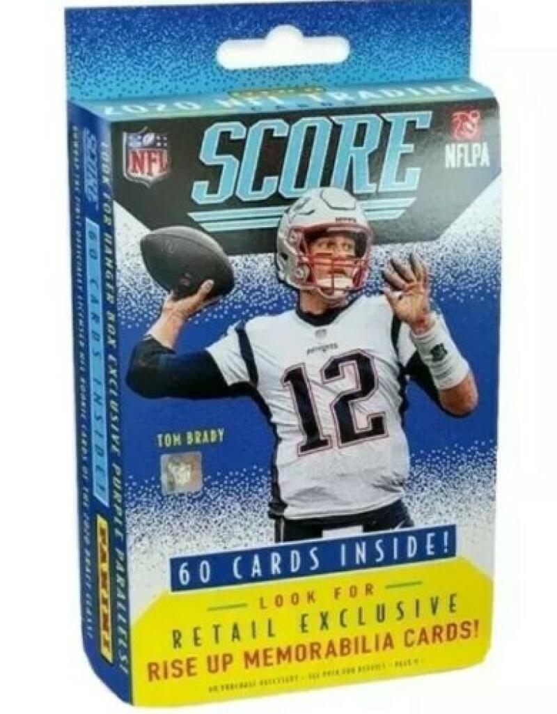 2020 Panini Score NFL Football Sealed Retail Hanger Box 60 Ct