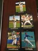 2007 Topps Factory Team Bonus New York Yankees Set of 5 cards