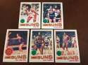 1977-78 Topps NBA Phoenix Suns Team Set Near Mint 5 Cards Paul Westphal