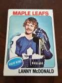 1975-76 Topps Toronto Maple Leafs Team Set NM/MT Darryl Sittler Lanny McDonald 18 Cards