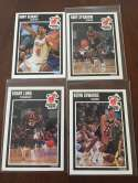 1989-90 Fleer Miami Heat Team Set 4 Cards Rony Seikaly