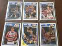 1989-90 Fleer Denver Nuggets Team Set 6 Cards Michael Adams