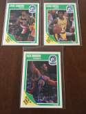 1989-90 Fleer InAugural Minnesota Timberwolves Team Set 3 Cards
