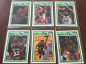 1989-90 Fleer Dallas Mavericks Team Set 6 Cards