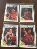 1989-90 Fleer InAugural Orlando Magic Team Set 4 Cards