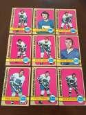 1972-73 Topps Vancouver Canucks Team Set Near Mint