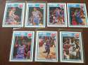 1989-90 Fleer Sacramento Kings Team Set 7 Cards Danny Ainge