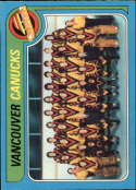 1979-80 OPC O-Pee-Chee Vancouver Canucks Team Set 17 Cards NrMt