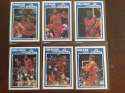 1989-90 Fleer Washington Bullets Team Set 6 Cards Bernard King