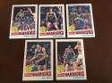 1977-78 Topps NBA Golden State Warriors Team Set Near Mint 5 Cards Robert Parish RC Rick Barry