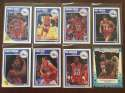 1989-90 Fleer Philadelphia 76ers Team Set 8 Cards Charles Barkley w AS Sticker