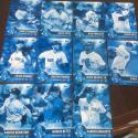 2017 Topps Bunt Blue Parallel Team Set Boston Red Sox