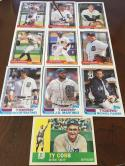 2017 Topps Archives Team Set Detroit Tigers