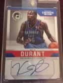 Basketball NBA 2012-13 Playoff Contenders Contemporary Autographs #1 Kevin Durant NM-MT Auto 03/25 Thunder