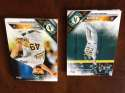 2016 Topps Mini Team Set Oakland Athletics