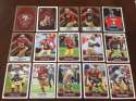 2017 Panini NFL Stickers Team set San Francisco 49ers