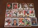 2017 Panini NFL Stickers Team set Cleveland Browns