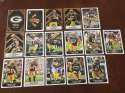 2017 Panini NFL Stickers Team set Green Bay Packers