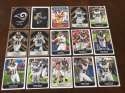 2017 Panini NFL Stickers Team set St Louis Rams