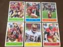 2009 Upper Deck Philadelphia Base Team Set San Francisco 49ers