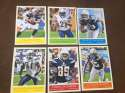 2009 Upper Deck Philadelphia Base Team Set San Diego Chargers