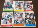 2009 Upper Deck Philadelphia Base Team Set Miami Dolphins