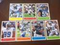 2009 Upper Deck Philadelphia Base Team Set Detroit Lions